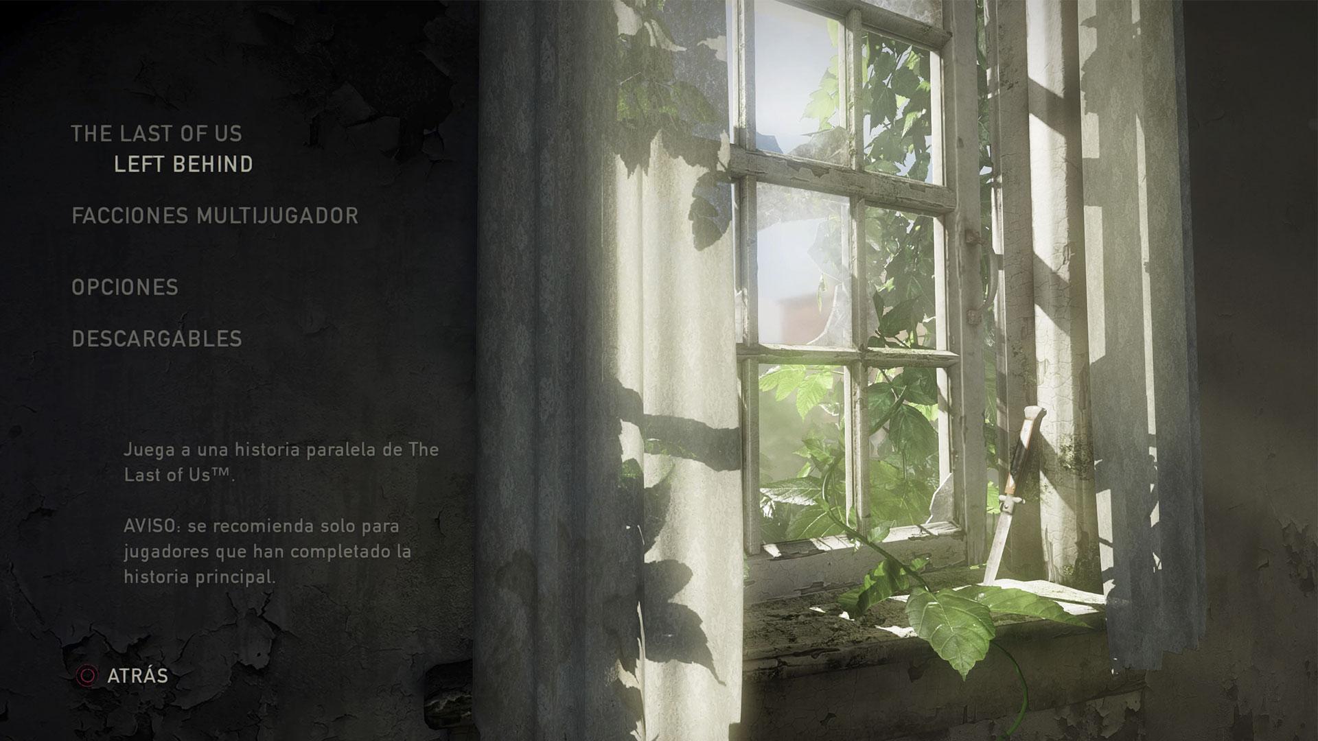 The Last Of Us: Left Behind [Press Start]