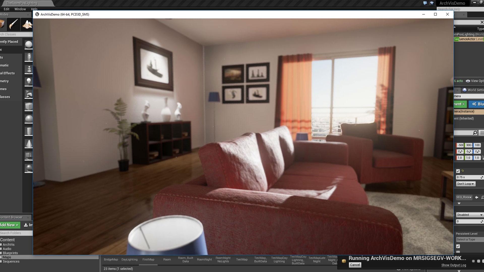 El apartamento: Arch Viz