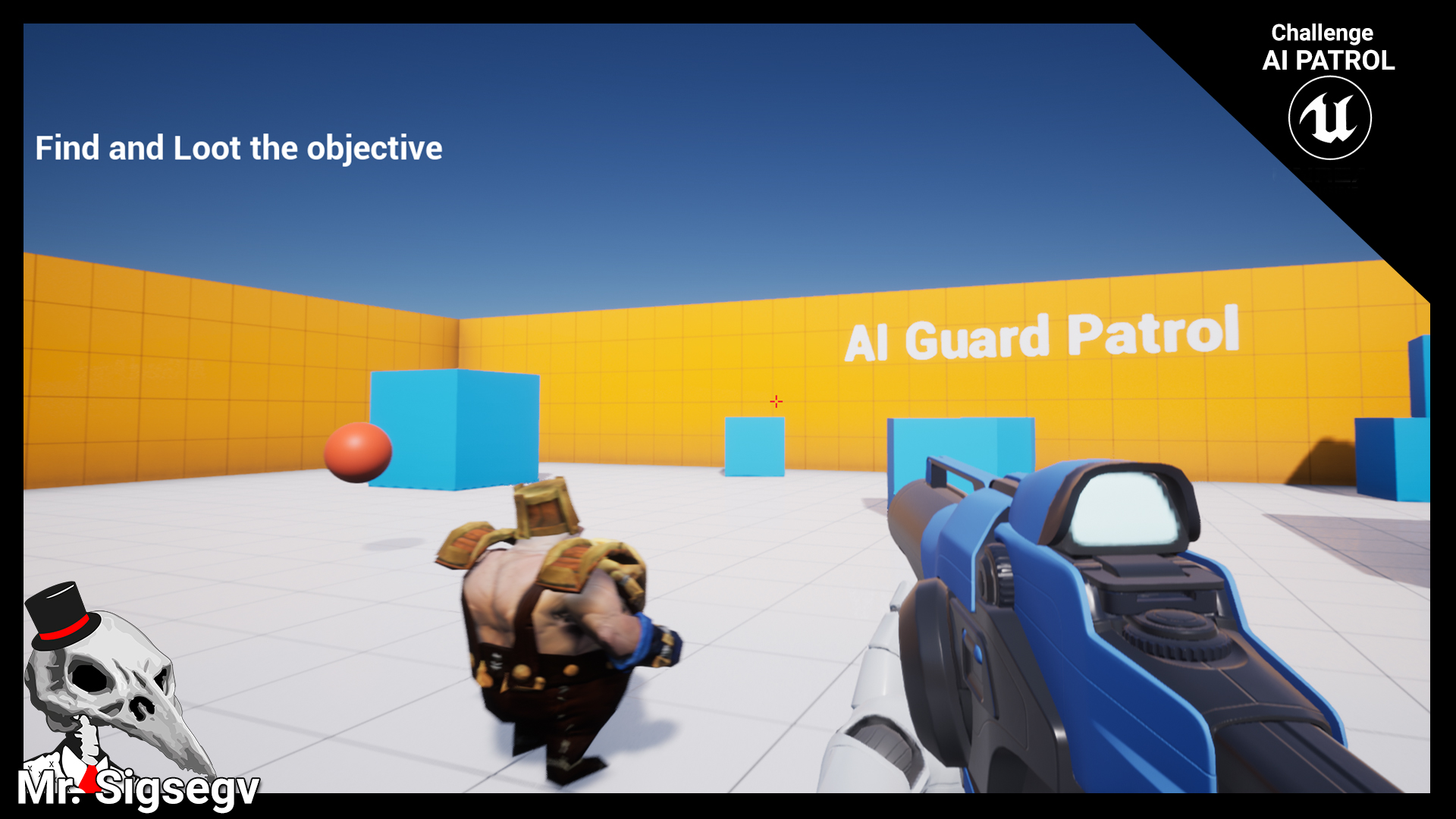 AI Guard Patrol Challenge: C++/Blueprints