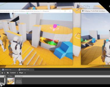 Multiplayer Horde Mode Gameloop: C++/Blueprints