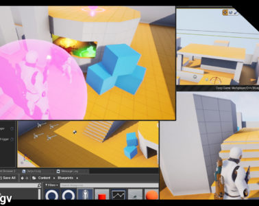 Coop Game: Multiplayer/C++/Blueprints/AI