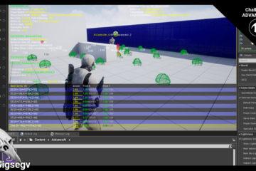 Advanced AI - Flee/Cover Challenge: C++/Blueprints